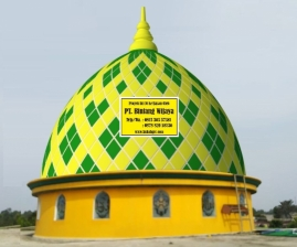 Kubah Masjid Berbahan GRC Terlaris